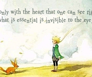 heart, quote, and little prince image