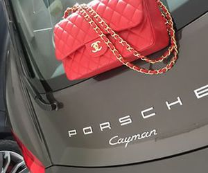 chanel, porsche, and hermeslouboutinlouis image