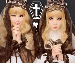 angelic pretty, dark, and gothic image