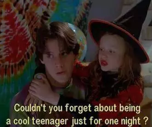hocus pocus, movie, and teenager image