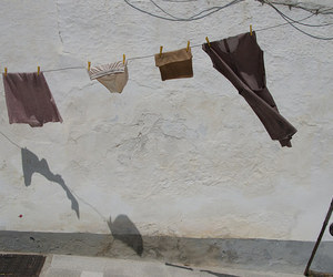 clothes and washing line image