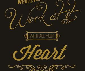 god, heart, and quotes image