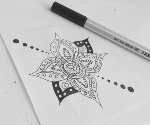 bored, doodle, and drawing image