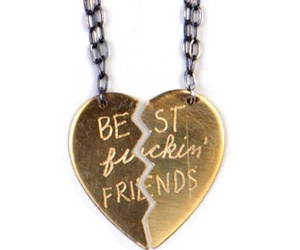 best friends, jewlery, and necklace image