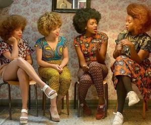 black woman, fashion, and models image