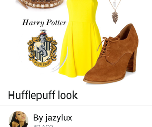 cedric diggory, harry potter, and hufflepuff image