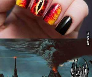 nails, sauron, and lord of the rings image