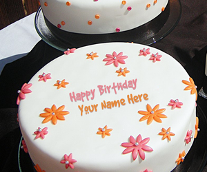 Write Name On Cakes And Birthday Wishes Image