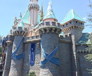 castle, disney land, and Dream image