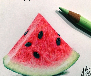 art, food, and fruit image