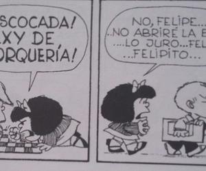 mafalda, promesa, and ajedrez image