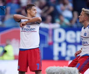hamburg, hsv, and lewis holtby image