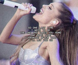 ariana grande, one last time, and Lyrics image