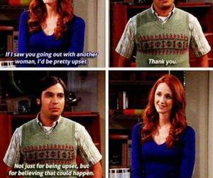 funny, raj, and quote image