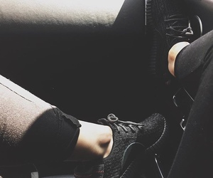 black, shoes, and kylie jenner image