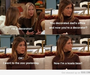 friends, funny, and rachel image