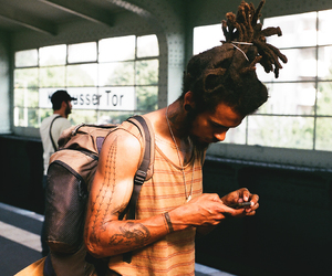 dreadlocks, rasta, and boy image