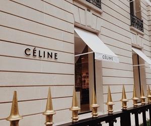 celine, beige, and theme image