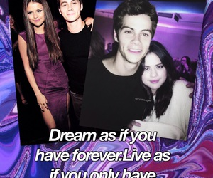 dylan, gomez, and selena image