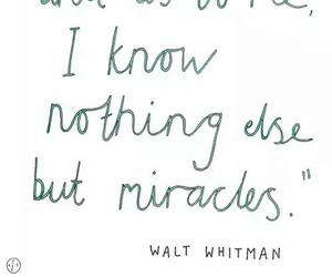 miracles, text, and quotes image