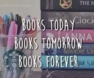 book, forever, and today image