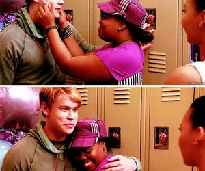 glee, sam evans, and samcedes image