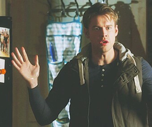 glee, chord overstreet, and sam evans image