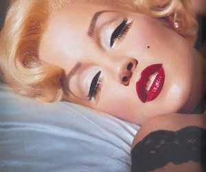 blonde, make-up, and classic image