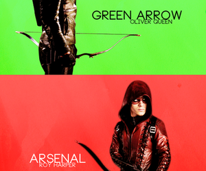 oliver queen and roy harper image