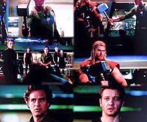 Avengers, hammer, and hawkeye image