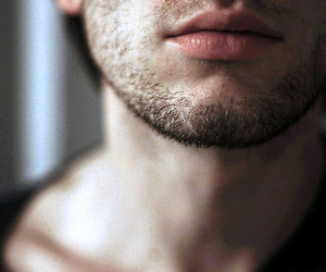 boy, lips, and beard image