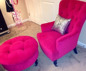 home, interior design, and pink image