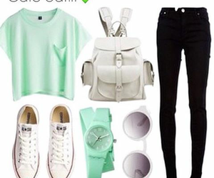 outfit, school, and cute image