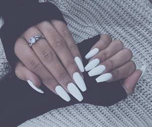 dark, Darkness, and nails image