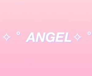 pink, angel, and aesthetic image