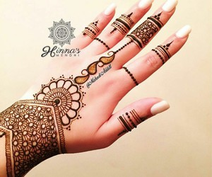 art, beautiful, and mehndi image
