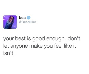 quote and bea miller image