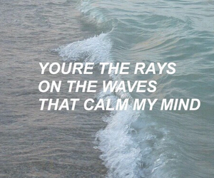 waves, one direction, and Lyrics image