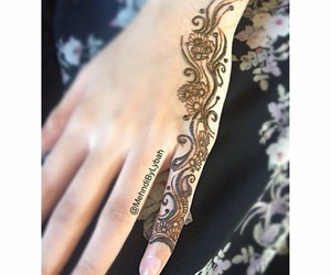 art, beautiful, and henna image