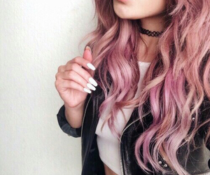 clothes, nails, and pastel image