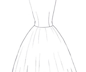 drawing tips, drawing how to, and drawing a dress image