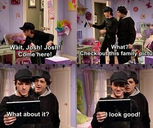 funny, josh, and drake and josh image