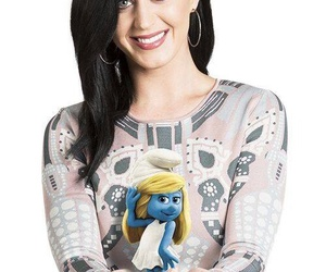 katy perry and the smurfs image