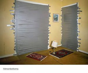 duct tape, visitors, and funny tumblr posts image