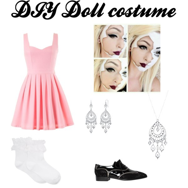 Diy Doll Costume Uploaded By V On We Heart It
