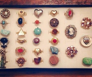 rings, fashion, and vintage image