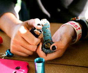 drug, smoke, and weed image