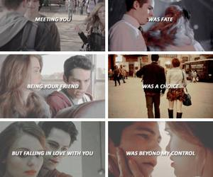 lydia, perfect couple, and teen wolf image