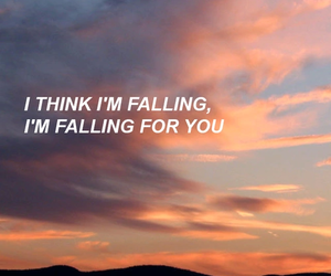 poem, falling for you, and the 1975 image