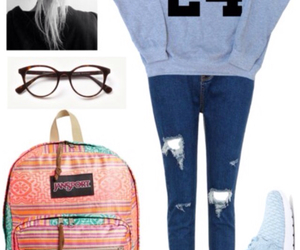 clothes and back to school image